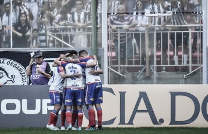 Bahia quebra invencibilidade do Atlético-MG e vence a primeira fora de casa