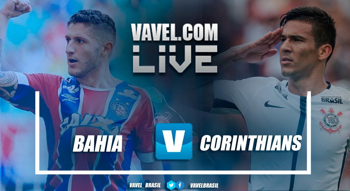 Resultado Bahia x Corinthians pelo Campeonato Brasileiro 2018 (1-0)