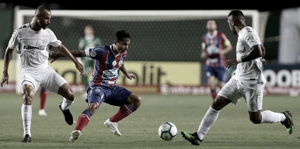 Em busca de evolução, Bahia recebe Grêmio em declínio técnico