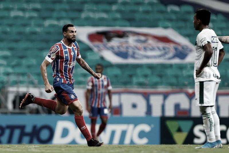 Goiás marca no final e busca empate em jogo emocionante contra Bahia