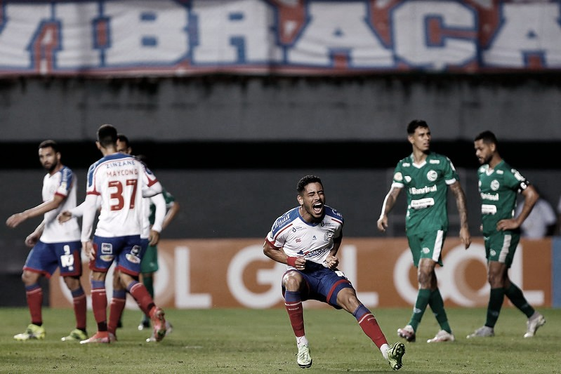 """Escutei muita coisa"", desabafa Matheus Bahia após gol do triunfo sobre Juventude"