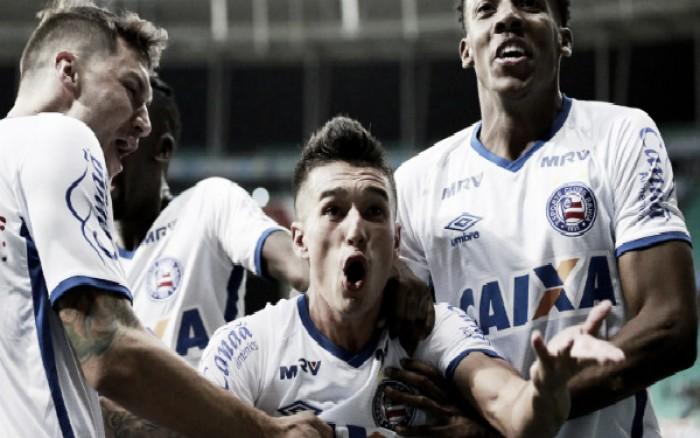 Bahia supera Vila Nova pelo placar mínimo e entra provisoriamente no G-4