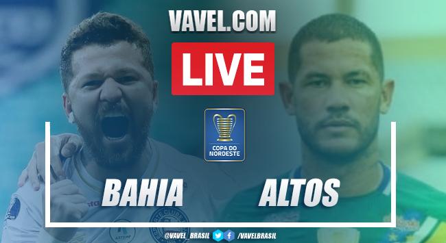 Gols e melhores momentos de Bahia x Altos (5-0)