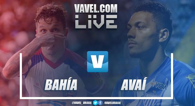Resultado Bahia x Avaí no Campeonato Brasileiro (1-0)