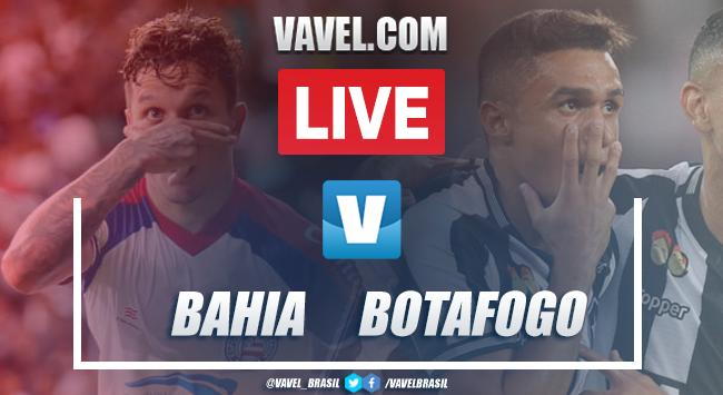 Gols e melhores momentos Bahia 2x0 Botafogo pelo Campeonato Brasileiro 2019