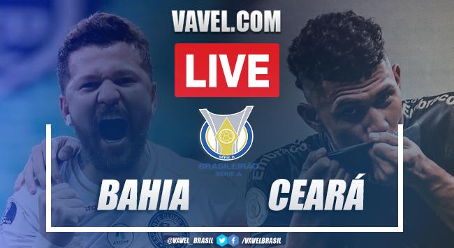 Gols e melhores momentos de Bahia 0 x 2 Ceará pelo Campeonato Brasileiro