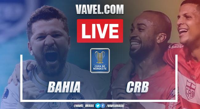 Gols e Melhores momentos de Bahia 4 x 0 CRB