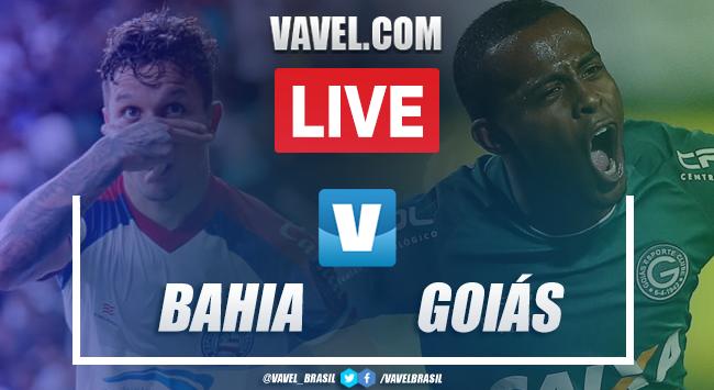 Assistir jogo Bahia x Goiás AO VIVO online pelo Campeonato Brasileiro (0-0)