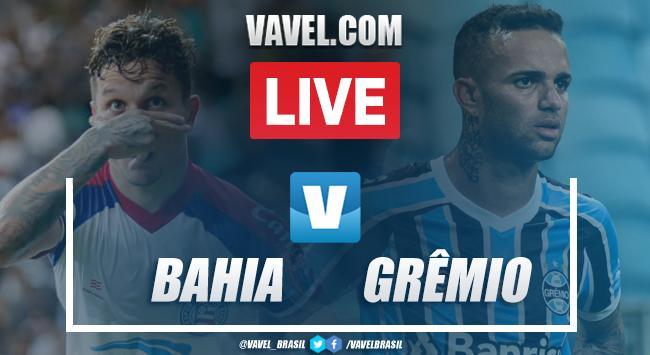 Bahia x Grêmio AO VIVO hoje (0-0)