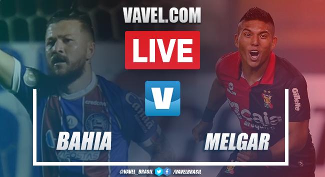 Gols e melhores momentos de Bahia x Melgar (4-0)