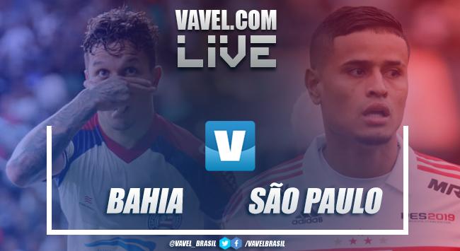 Bahia x São Paulo AO VIVO hoje no Copa do Brasil (1-0)