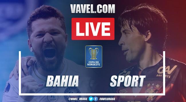 Gols e melhores momentos Bahia 4x0 Sport pela Copa do Nordeste 2021