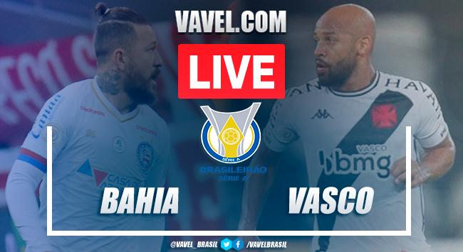 Gols e melhores momentos deBahia 3x0 Vasco pelo Campeonato Brasileiro 2020 (3-0)