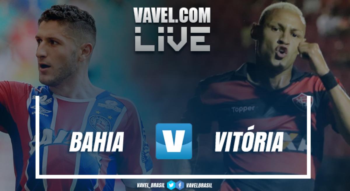 Resultado Bahia 4 x 1 Vitória pelo Campeonato Brasileiro 2018