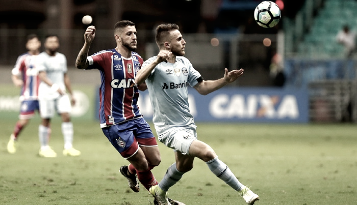 Resultado de Bahia x Grêmio pelo Campeonato Brasileiro 2018 (0-2)