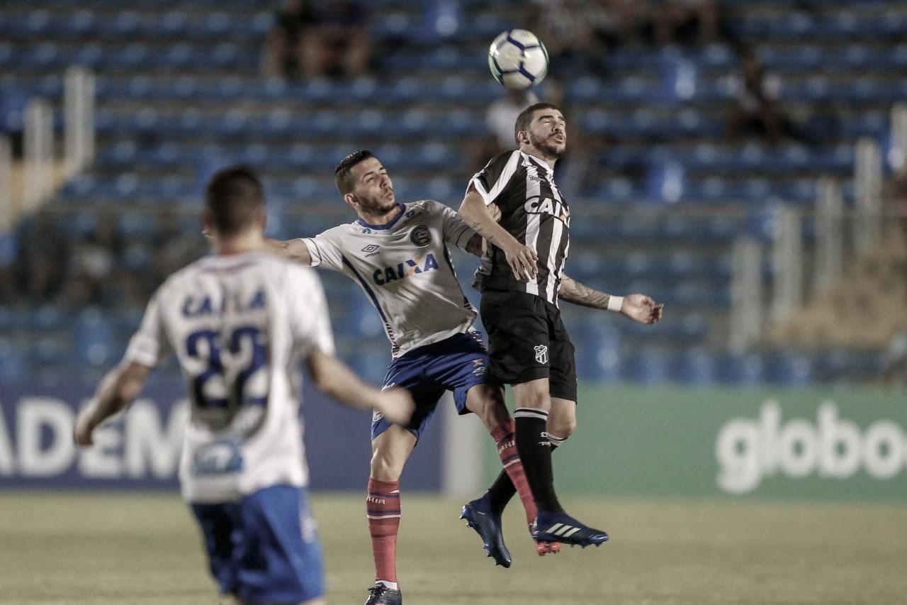 Bahia e Ceará se enfrentam por permanência na Série A