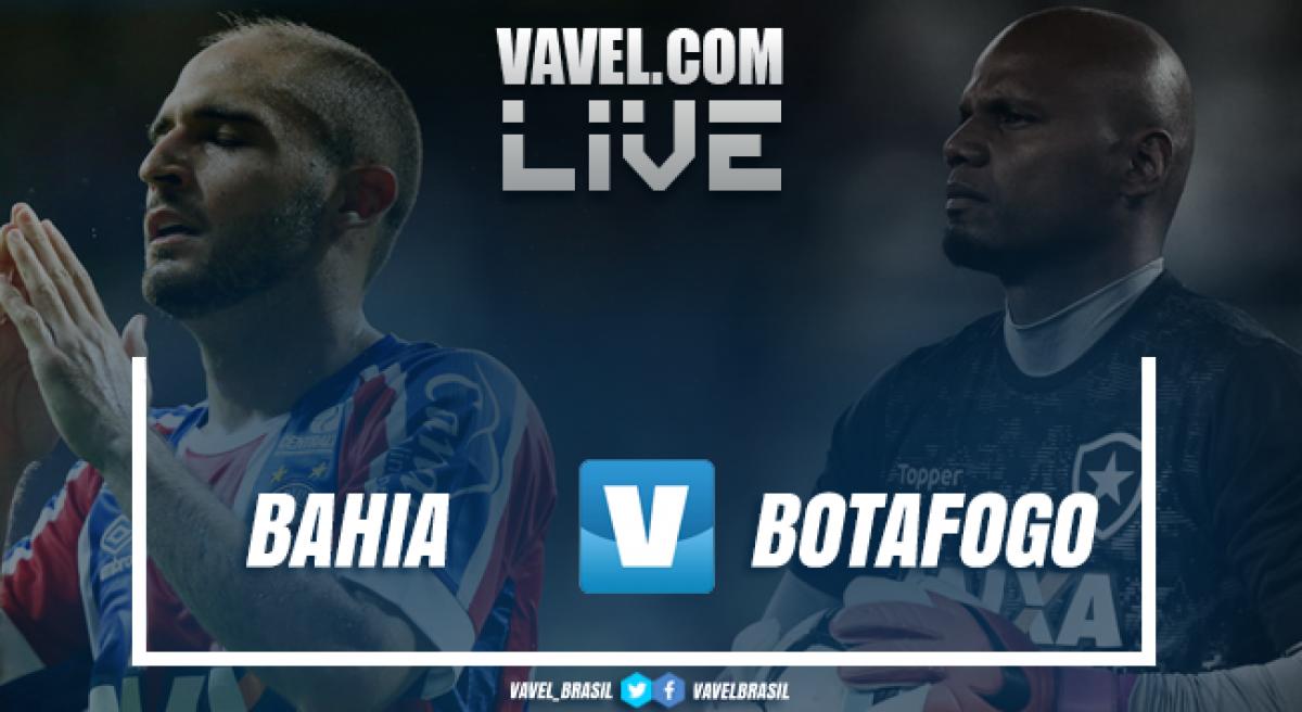 Resultado Bahia 3x3 Botafogo pelo Campeonato Brasileiro 2018