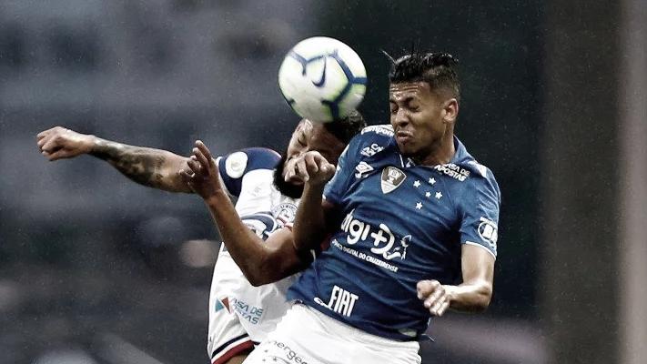 Com um menos no segundo tempo, Bahia empata diante dos reservas do Cruzeiro