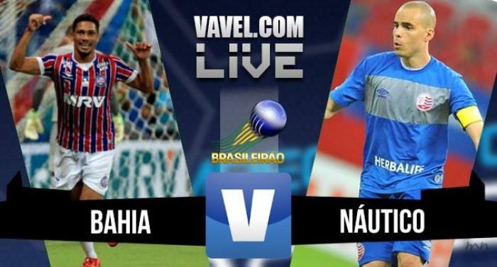 Resultado Bahia x Náutico na Série B do Campeonato Brasileiro (0-0)