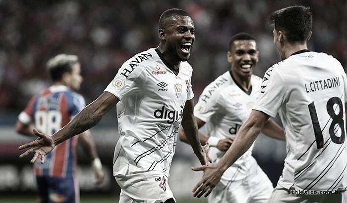 Estraga-prazeres: Athletico vence em Salvador e tira Bahia do G-6