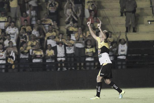 Paulo Baier marca seu primeiro gol no retorno e Criciúma bate Figueira