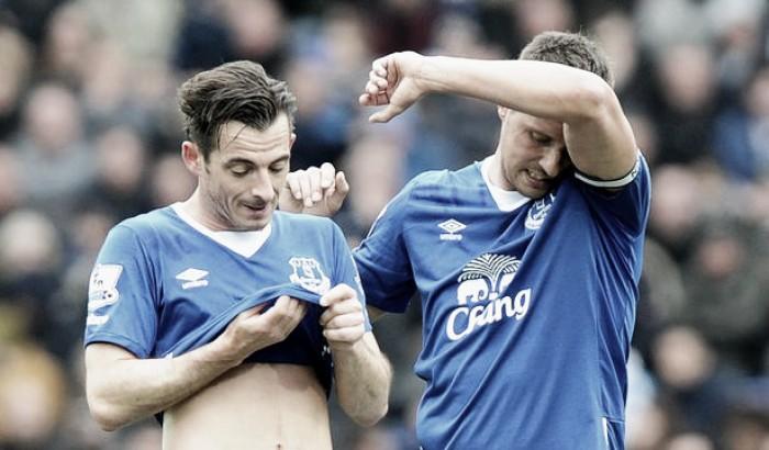 Leighton Baines admits Everton lack chemistry