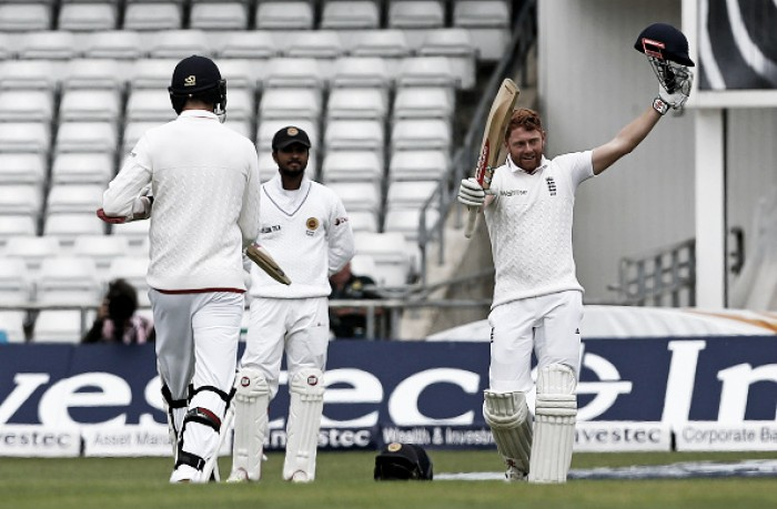 England - Sri Lanka Day Two: Anderson follows up Bairstow ton with five-for as England enforce follow on