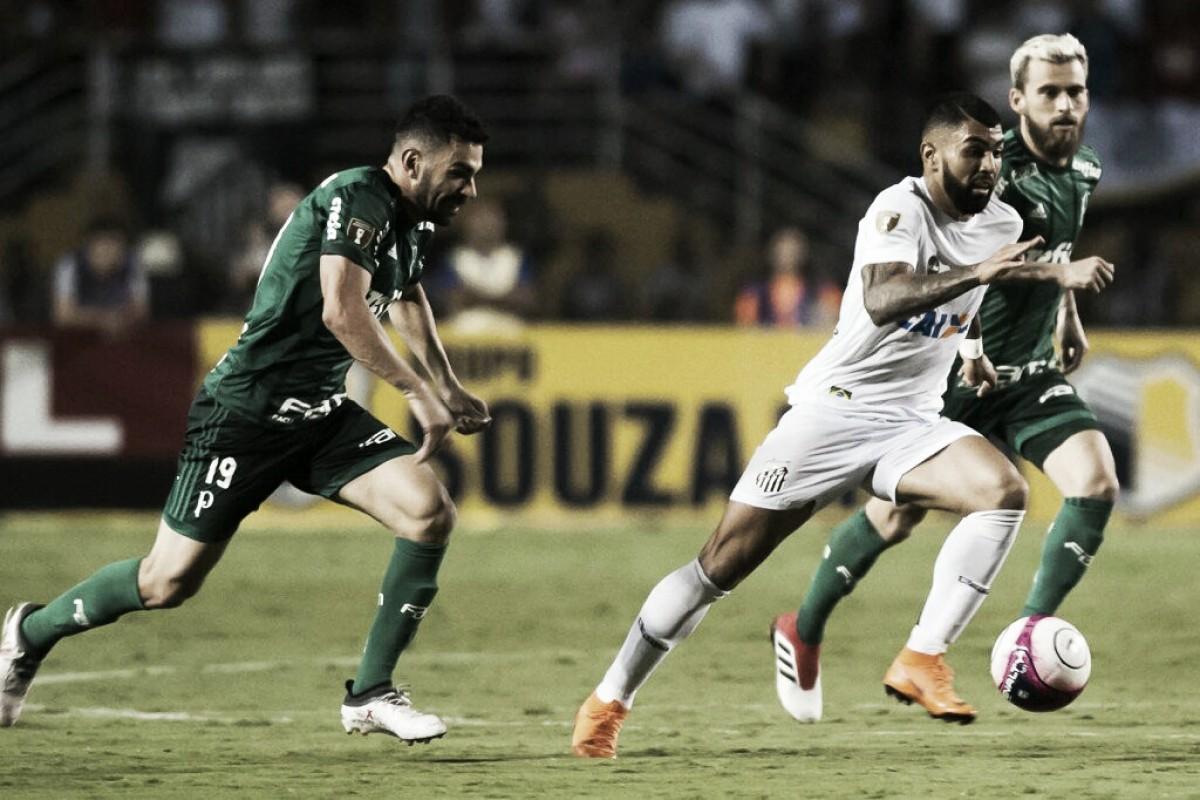 De volta ao Brasileirão, Santos protagoniza clássico paulista contra Palmeiras