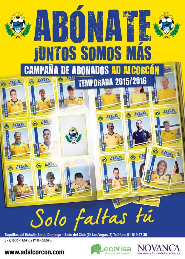 El Alcorcón lanza su campaña de abonados para la próxima temporada
