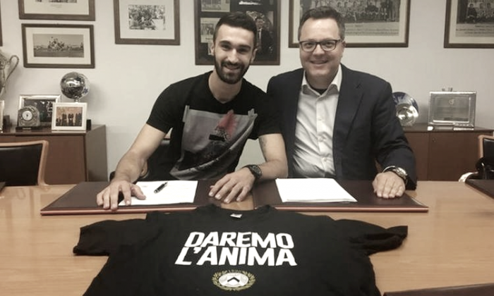 UFFICIALE: Riad Bajic è un nuovo calciatore dell'Udinese