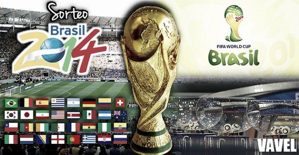 Resultado del sorteo del Mundial de Brasil 2014