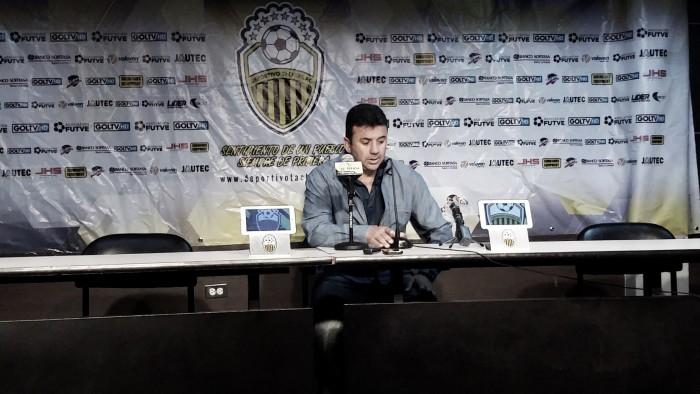 """Baldivieso: """"Nosotros tratamos de proponer y jugar al fútbol"""""""