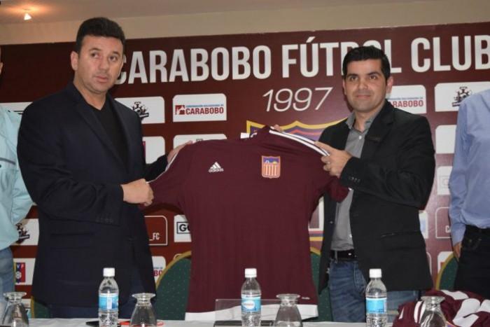 Julio César Baldivieso fue presentado por el Carabobo FC