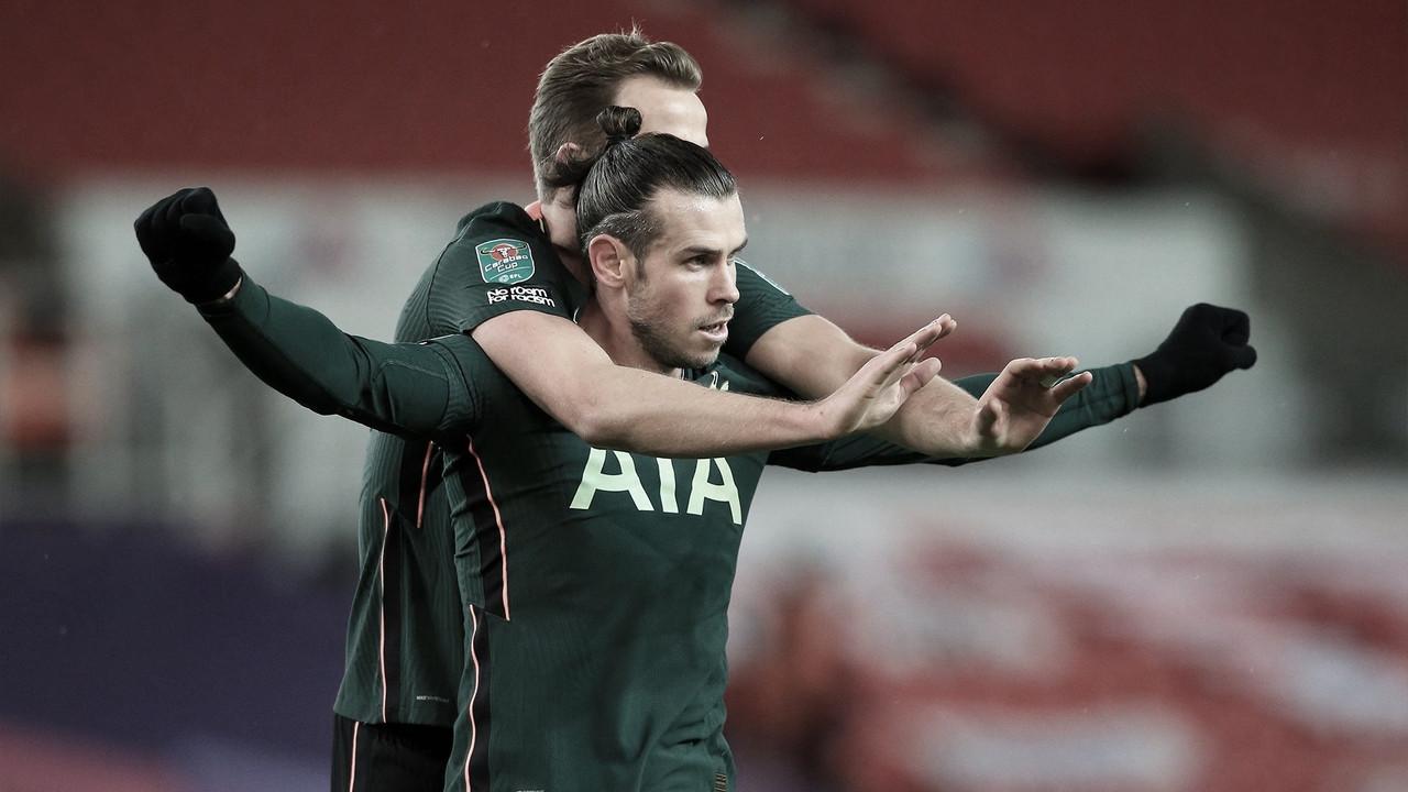 Tottenham vence Stoke City e vai à semifinal da Copa da Liga Inglesa