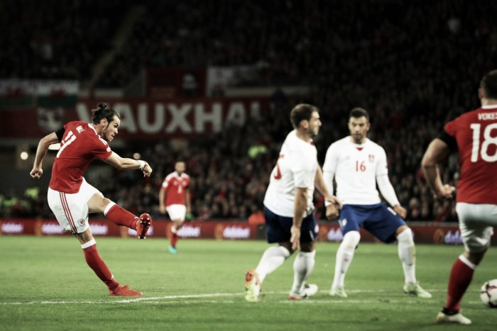 Bale marca, mas Gales sofre gol no fim e fica no empate com a Sérvia pelas Eliminatórias