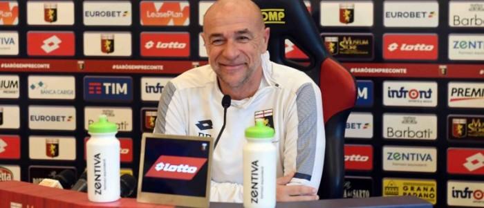 """Genoa, Ballardini in conferenza: """"Attenzione al Verona che è in crescita"""""""