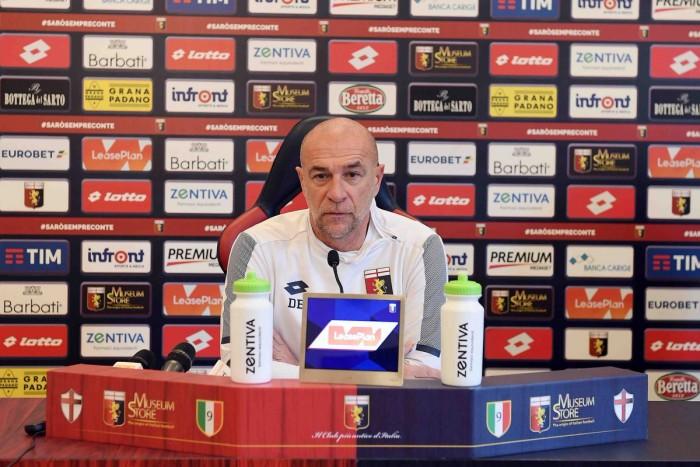 Genoa: le parole di Ballardini in conferenza stampa