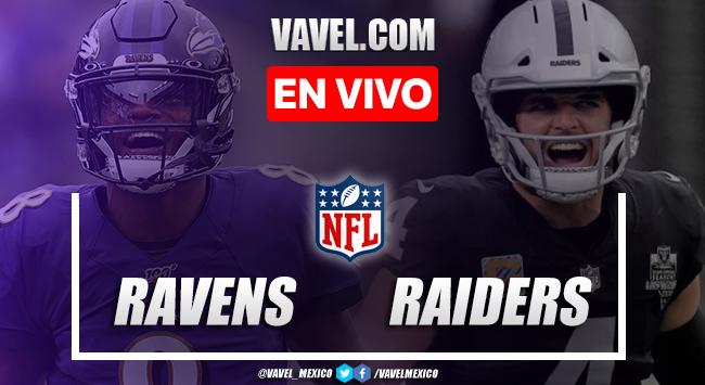 Touchdowns y Resumen del Ravens 27-33 Raiders en la Semana 1 de la NFL 2021
