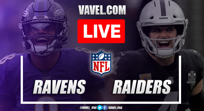Goals and Touchdowns of Ravens 27-33 Raiders on Week 1 NFL 2021