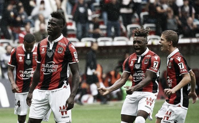 Balotelli marca duas vezes, Nice atropela Monaco e quebra invencibilidade do rival na Ligue 1