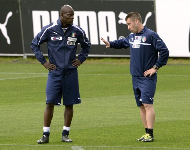 Cassano e Balotelli già protagonisti al ritiro azzurro