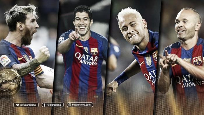 Cuatro jugadores del Barcelona nominados para el Balón de Oro 2016