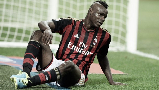 Mario Balotelli sidelined for three months with hernia problem