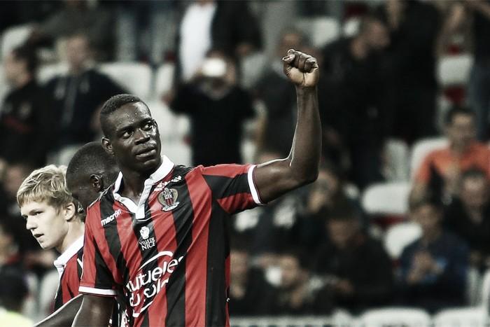 Destaque do Nice, Balotelli soma mais gols que os atacantes convocados à Seleção Italiana