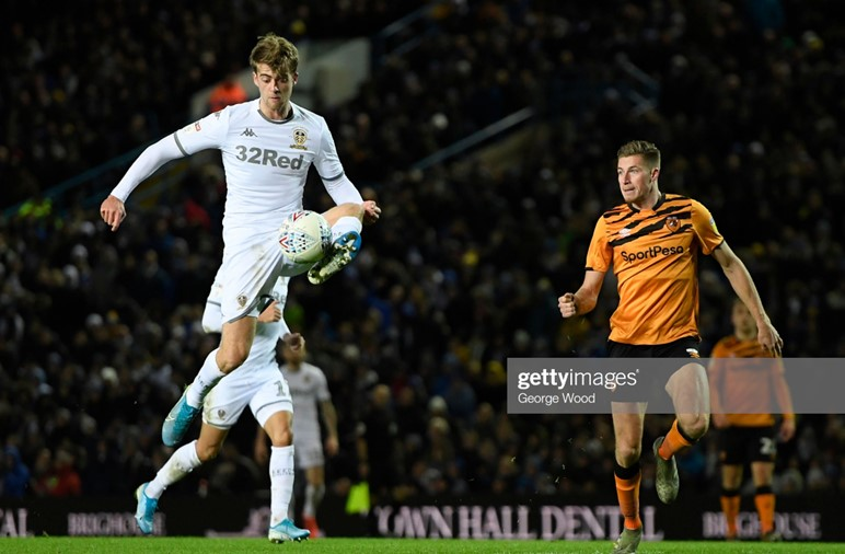 Leeds United 2-0 Hull City: Whites move to the top of the Championship