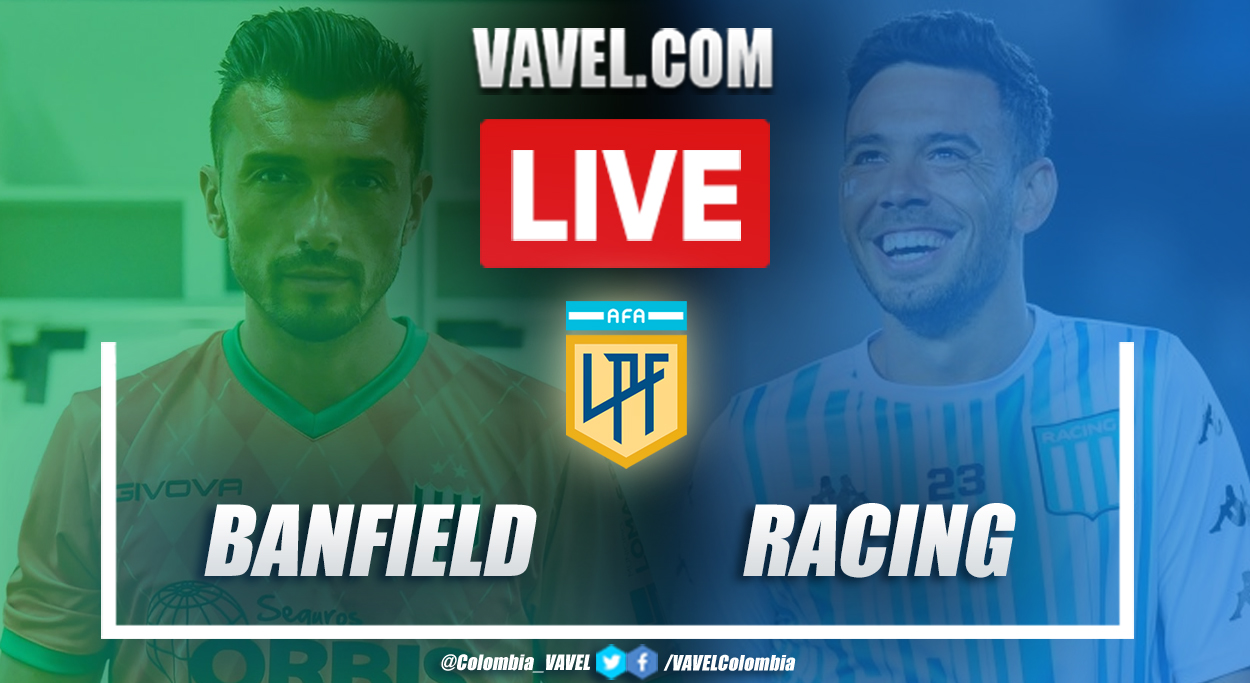 Resumen Banfield vs Racing Club (2-0) por la Copa de la Liga Profesional