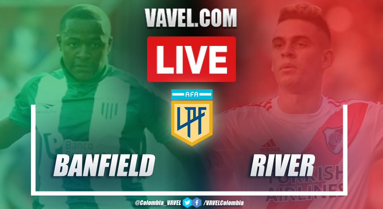 Resumen Banfield vs River (0-2) por Copa de la Liga Profesional