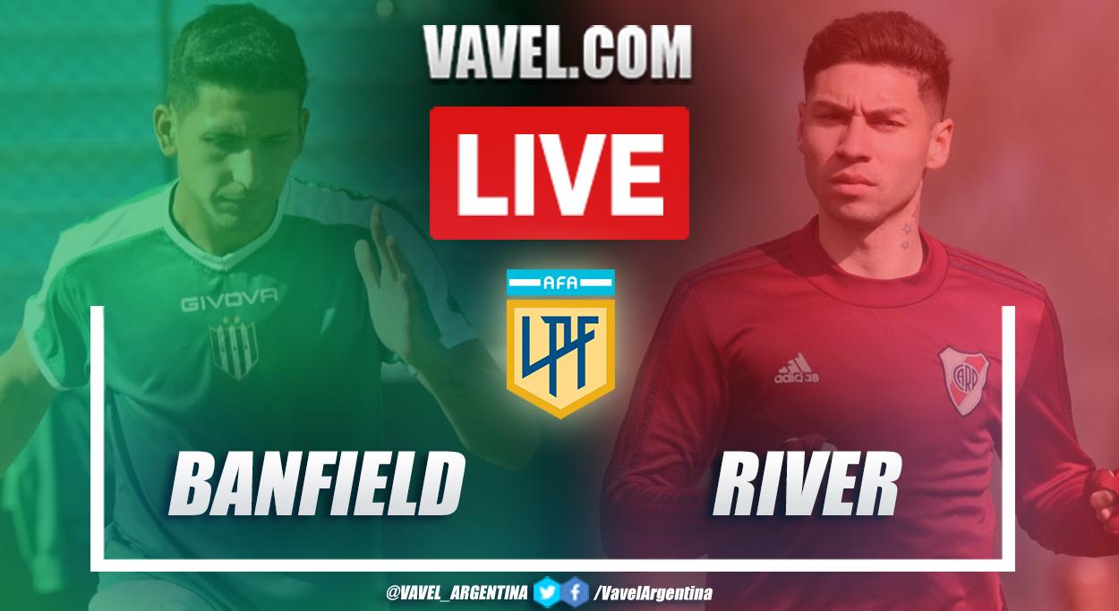 Resumen Banfield vs River (1-0) en la fecha 12 por Copa de la Liga Profesional 2021