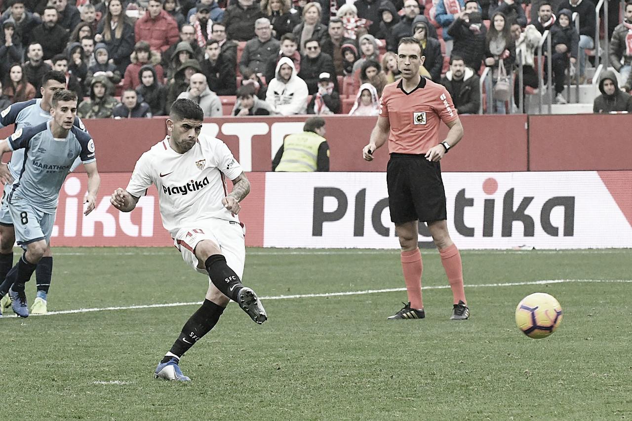 Girona vs Sevilla en vivo y en directo online en La Liga Santander 2019 (1-0)