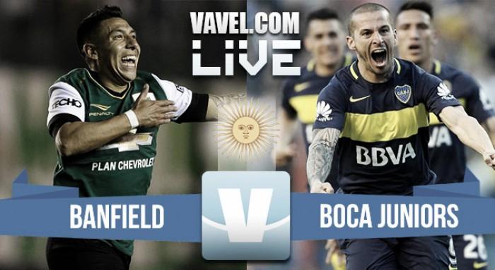 Resultado Banfield 0-2 Boca Juniors por el Torneo de la Independencia 2017